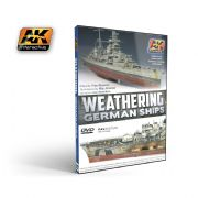 DVD WEATHERING GERMAN SHIPS (PAL)<br>AK650DVD